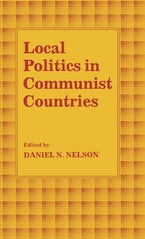 Local Politics in Communist Countries