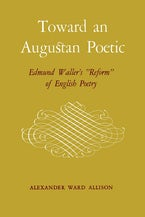 Toward an Augustan Poetic