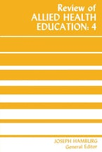 Review of Allied Health Education: 4