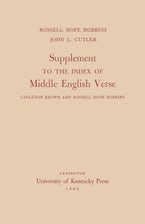 Supplement to the Index of Middle English Verse