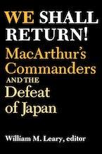 We Shall Return!